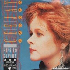 Discos de vinilo: CEEJAY 'HE'S SO DIVINE' ACID REMIX - ACID RADIO MIX - LP MAXISINGLE DE 1989 RF-7234. Lote 147985958