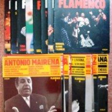 Discos de vinilo: COLECCION SARPE DE FLAMENCO (11 LPS CON SUS LIBRETOS). Lote 147989678