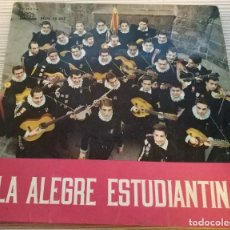 Discos de vinilo: VINILO 45 RPM LA ALEGRE ESTUDIANTINA SEDL 19.265 REGAL AÑO 1960. Lote 147992962