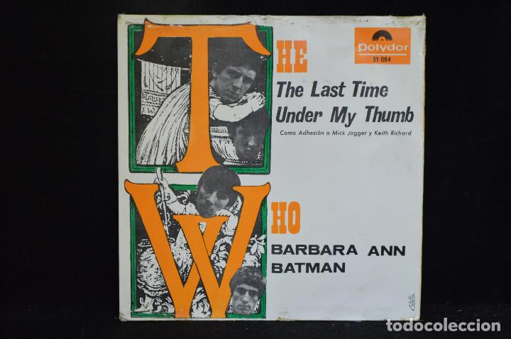 THE WHO - THE LAST TIME +3 - EP (Música - Discos de Vinilo - EPs - Pop - Rock Internacional de los 50 y 60)
