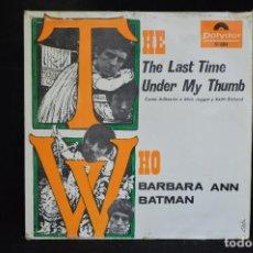 Discos de vinilo: THE WHO - THE LAST TIME +3 - EP. Lote 147995422