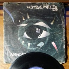 Discos de vinilo: THE STEVE MILLER BAND, ABRACADABRA Y NEVER SAY NO. Lote 147996014