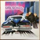 Discos de vinilo: GIRLSCHOOL – HIT AND RUN - LP VINYL 1981 SPAIN - (MOTORHEAD, JOAN JETT, RUNAWAY, DORO). Lote 147997018