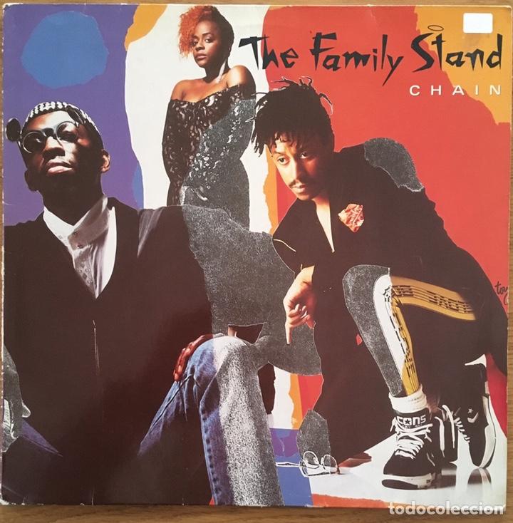THE FAMILY STAND CHAIN LP ATLANTIC DISCO EXCELENTE (Música - Discos - LP Vinilo - Funk, Soul y Black Music)
