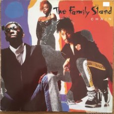 Discos de vinilo: THE FAMILY STAND CHAIN LP ATLANTIC DISCO EXCELENTE. Lote 147998014