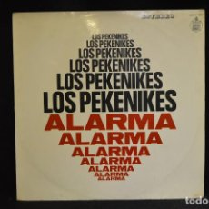 Discos de vinilo: LOS PEKENIKES - ALARMA - LP. Lote 147998266
