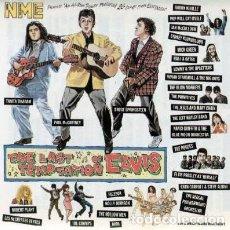 Discos de vinilo: THE LAST TEMPTATION OF ELVIS - 2X LP VINYL 1990 U.K ED. (LEMMY, ROBERT PLANT, THE POGUES). Lote 147999666