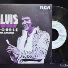 Discos de vinilo: ELVIS - TROUBLE / MR. SONGMAN - SINGLE . Lote 148009034