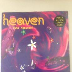 Discos de vinilo: HEAVEN THE REMIXES. Lote 148011246