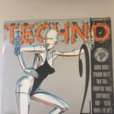 Discos de vinilo: TECHNO - LAS 24 CANCIONES MÁS GRANDES DEL TECHNO. Lote 148011641
