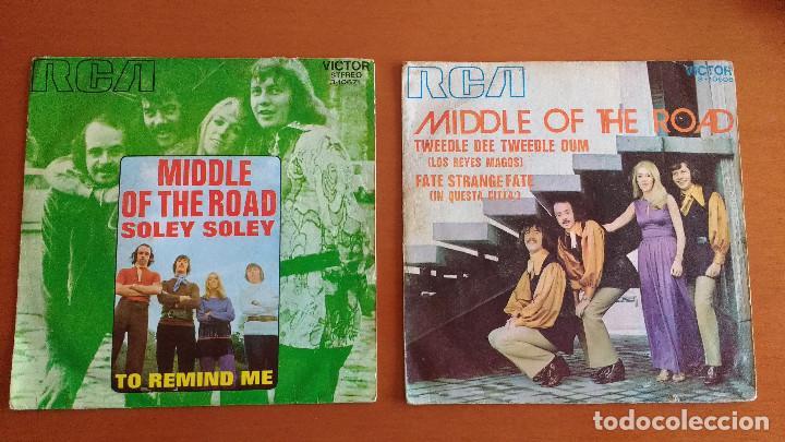 MIDDLE OF THE ROAD (Música - Discos - Singles Vinilo - Pop - Rock - Extranjero de los 70)