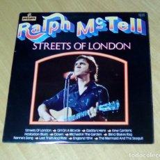 Discos de vinilo: RALPH MCTELL - STREETS OF LONDON (LP 1969, PICKWICK SHM 926). Lote 148013918