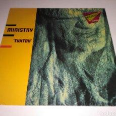 Discos de vinilo: MINISTRY - TWITCH (LP, ALBUM, SRC). Lote 148014700