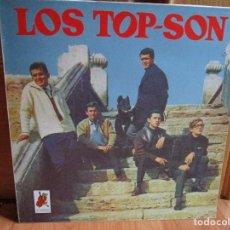 Discos de vinilo: LOS TOP-SON - CHARIOT - CIEN KILOS DE BARRO - OH PRETTY WOMAN - JERSEY AZUL - DESPEINADA - . Lote 148015618