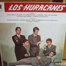 Discos de vinilo: LOS HURACANES - EL CONQUISTADOR - EL CALOR DE VERANO - YA VERAS - COMO TU - ESPERAME -. Lote 148015878