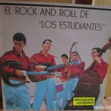 Discos de vinilo: LOS ESTUDIANTES - EL ROCK AND ROLL - DISCOGRAFIA COMPLETA - ME ENAMORE DE UN ANGEL - LA BAMBA -. Lote 148016146