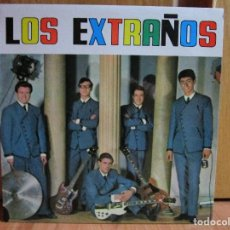 Discos de vinilo: LOS EXTRAÑOS YO TENGO UNA PRIMA - SE BURLO DE MI - VIVA LAS VEGAS - TOBACCO ROAD - . Lote 148016442