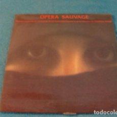 Discos de vinilo: LOTE LP VANGELIS OPERA SAUVAGE SELLO POLYDOR 1980. Lote 148017738
