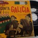 Discos de vinilo: E P ( VINILO) DE COROS CANTIGAS DA TERRA . Lote 148020806