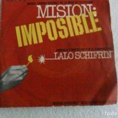 Discos de vinilo: LALO SCHIFRIN - MISION IMPOSIBLE 1968. Lote 148020934