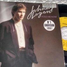 Discos de vinil: SINGLE (VINILO)-PROMOCION- DE JOHNNY LOGAN AÑOS 80 ( EUROVISION). Lote 148021034