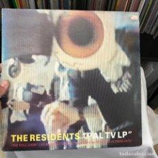 Discos de vinilo: THE RESIDENTS – PAL TV LP 1985 EXPERIMENTAL PUNK. Lote 148022006