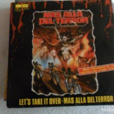 Discos de vinilo: MAS ALLA DEL TERROR - LET'S TAKE IT OVER 1980. Lote 148028514