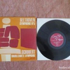 Discos de vinilo: BEETHOVEN SCHUBERT . Lote 148028602