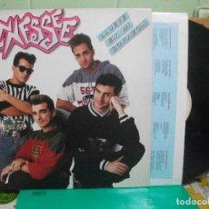 Discos de vinilo: TENNESSE. LLUEVE EN MI CORAZON. EMI ODEON 1991. LP CON ENCARTES CON FIRMAS CONTRAPORTADA PEPETO. Lote 148031006