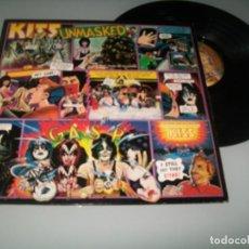 Discos de vinilo: KISS - UNMASKED .. LP DE CASABLANCA EDICION AMERICANA ORINAL ..1ª EDICION DE 1980. Lote 148032958
