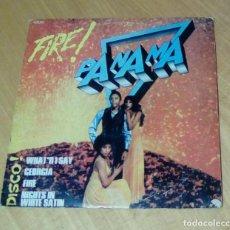 Discos de vinilo: PANAMA - FIRE! (LP 1978, EMI 2C 066-14563). Lote 148037910