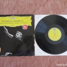 Discos de vinilo: BEETHOVEN 6 SYMPHONIE PASTORAL BERLINER PHILHARMONIKER. HERBERT VON KARAJAN. Lote 148038874
