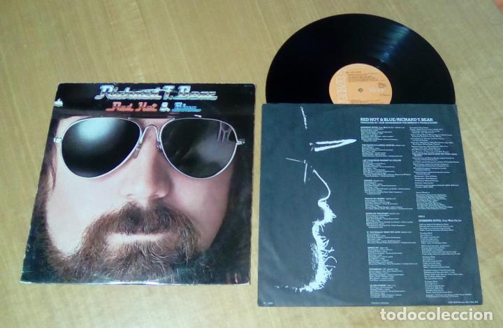 RICHARD T. BEAR - RED HOT & BLUE (LP 1978, ENCARTE CON LETRAS, RCA AFL1-2927) (Música - Discos - LP Vinilo - Disco y Dance)