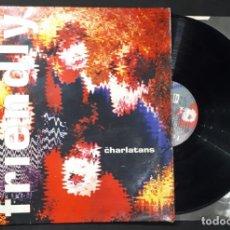 Discos de vinilo: DISCO LP VINILO THE CHARLATANS – SOME FRIENDLY PRIMERA EDICION INGLESA DE 1990. Lote 148042682