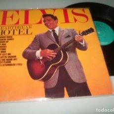 Discos de vinilo: ELVIS PRESLEY - HEARTBREAK HOTEL ..LP DE NGLATERRA DE 1981 - DE CAMDEN .. MUY BUEN ESTADO. Lote 148043410