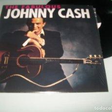 Discos de vinilo: JOHNNY CASH - THE FABULOUS - REEDION DE 2014 - 2º LP ORIGINAL DE 1958 - NUEVO. Lote 148044122