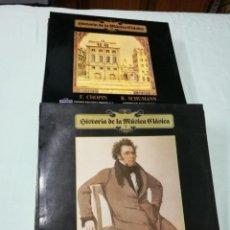 Discos de vinilo: LOTE 46 VINILOS HISTORIA DE LA MÚSICA CLASICA. Lote 148045030