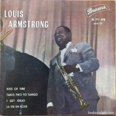 Discos de vinilo: EP LOUIS ARMSTRONG - KISS OF FIRE +3 (SPAIN, 1962). Lote 148047197