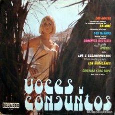 Discos de vinilo: VOCES Y CONJUNTOS DE LOS 60. Lote 148050914