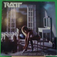 Discos de vinilo: LP RATT - INVASION OF YOUR PRIVACY . Lote 148052898
