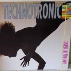 Discos de vinilo: TECHNOTRONIC - PUMP UP THE JAM MAX - 1989. Lote 148055922