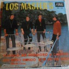 Discos de vinilo: LOS MASTER'S - CUANDO ME ENAMORO + 3 1968. Lote 148057942