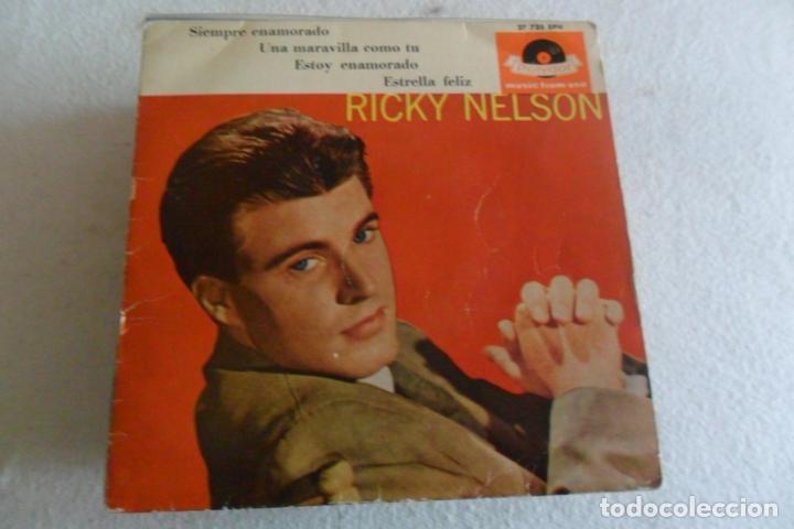 RICKY NELSON - SIEMPRE ENAMORADO + 3 EP 1962 (Música - Discos de Vinilo - Maxi Singles - Pop - Rock Extranjero de los 50 y 60)