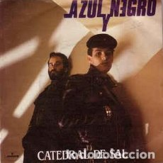 Discos de vinilo: AZUL Y NEGRO - CATEDRAL DE SAL. Lote 148060570