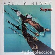 Discos de vinilo: AZUL Y NEGRO – SUSPENSE. Lote 148061802