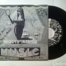 Discos de vinilo: CITY - BAT HOUSE / THIS IS MADRID - SINGLE 1989 - CITY MUSIC. Lote 148064214