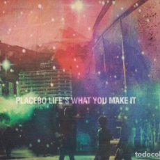 Discos de vinilo: PLACEBO – LIFE'S WHAT YOU MAKE IT. Lote 148070878