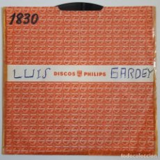 Discos de vinilo: SINGLE / LUIS GARDEY / PALMA /QUIERES VOLVER/PRIMER FESTIVAL INTERNACIONAL DE LA CANCION DE MALLORCA. Lote 148073514