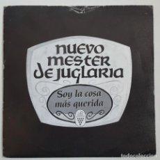 Discos de vinilo: EP / NUEVO MESTER DE JUGLARIA / SOY LA COSA MAS QUERIDA / JOTA DEL VINO DE CASTILLA / 1990. Lote 148076582