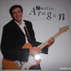 Discos de vinilo: EMILIO ARAGON ME HUELEN LOS PIES CBS 1990. Lote 148081970